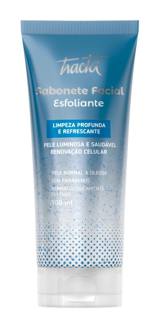 Sabonete Facial Esfoliante - 100ml - Tracta