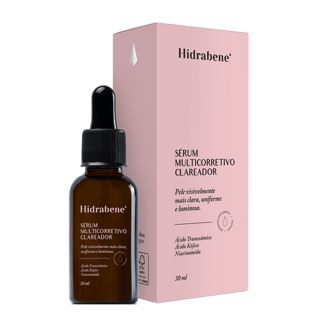 Serum Multicorretivo Clareador 30ML  - Hidrabene