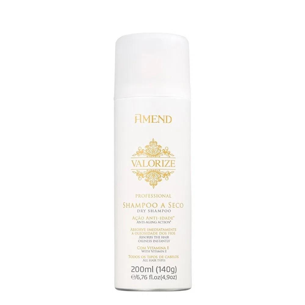 Shampoo a Seco Valorize Ação Anti-Idade 200ml - Amend