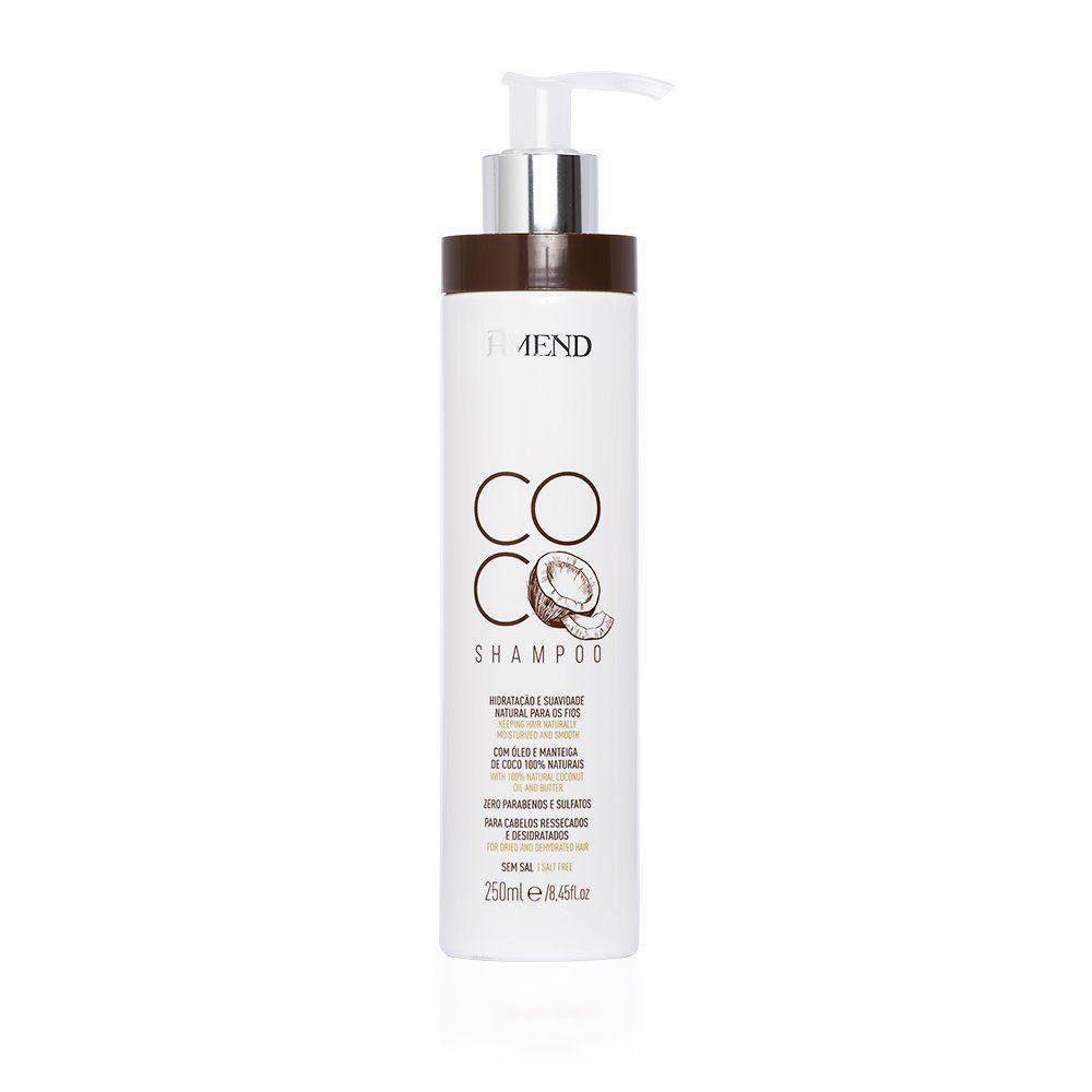 Shampoo Coco Para Cabelos Ressecados 250ml - Amend