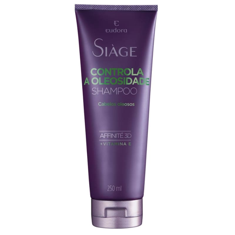 Shampoo Controla a Oleosidade - 250ml - Siàge