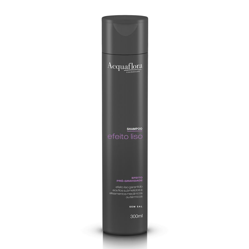Shampoo Efeito Liso 300ml- Acquaflora