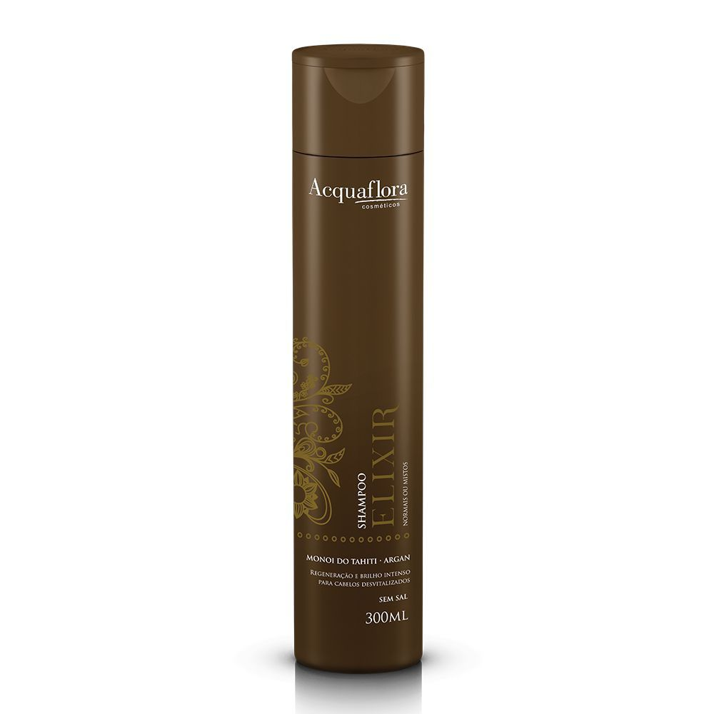 Shampoo Elixir Normais ou Mistos 300ml- Acquaflora