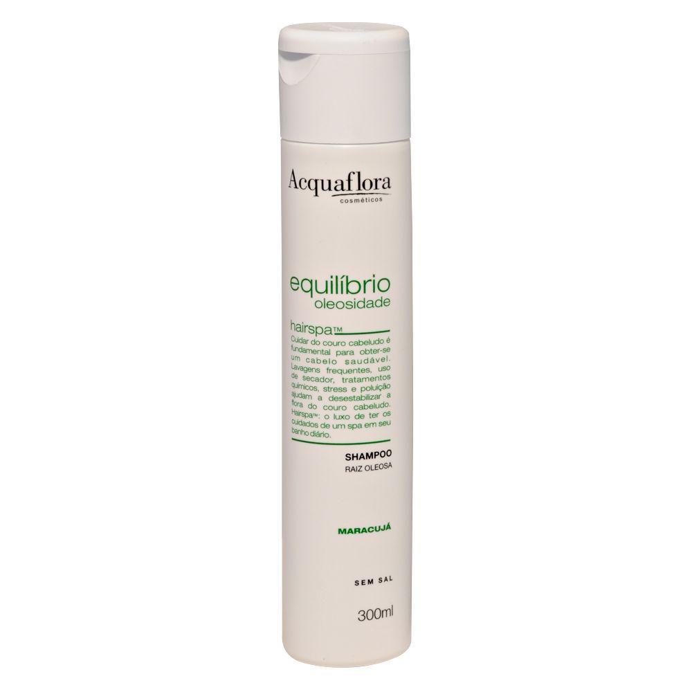 Shampoo Equilíbrio Oleosidade Normais ou Mistos 300ml- Acquaflora