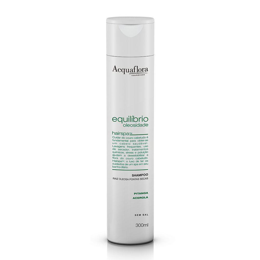 Shampoo Equilíbrio Oleosidade Secos ou Danificados  300ml- Acquaflora
