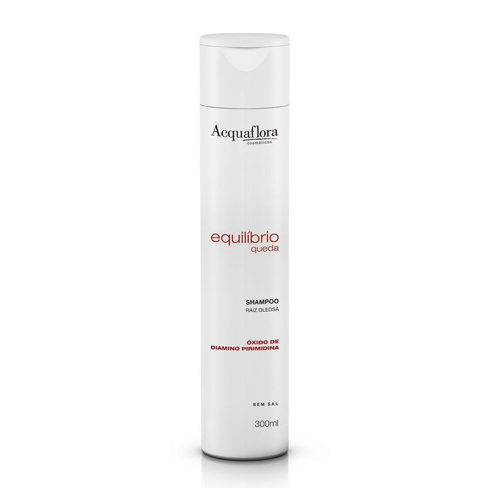 Shampoo Equilíbrio Queda Raiz Oleosa 300ml- Acquaflora