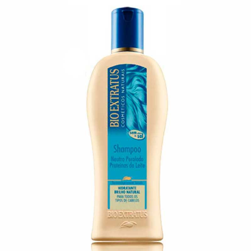 Shampoo Neutro Proteinas Do Leite 250ml - Bio Extratus
