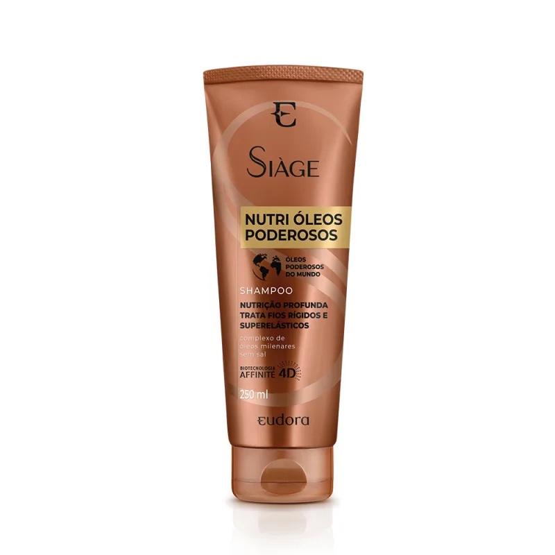 Shampoo Nutri Óleos Poderosos - 250ml - Siàge