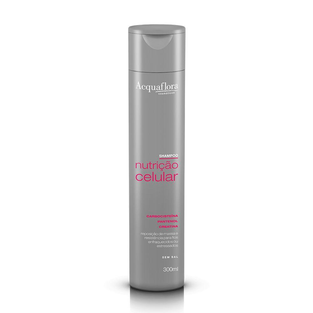 Shampoo Nutrição Celular 300ml- Acquaflora