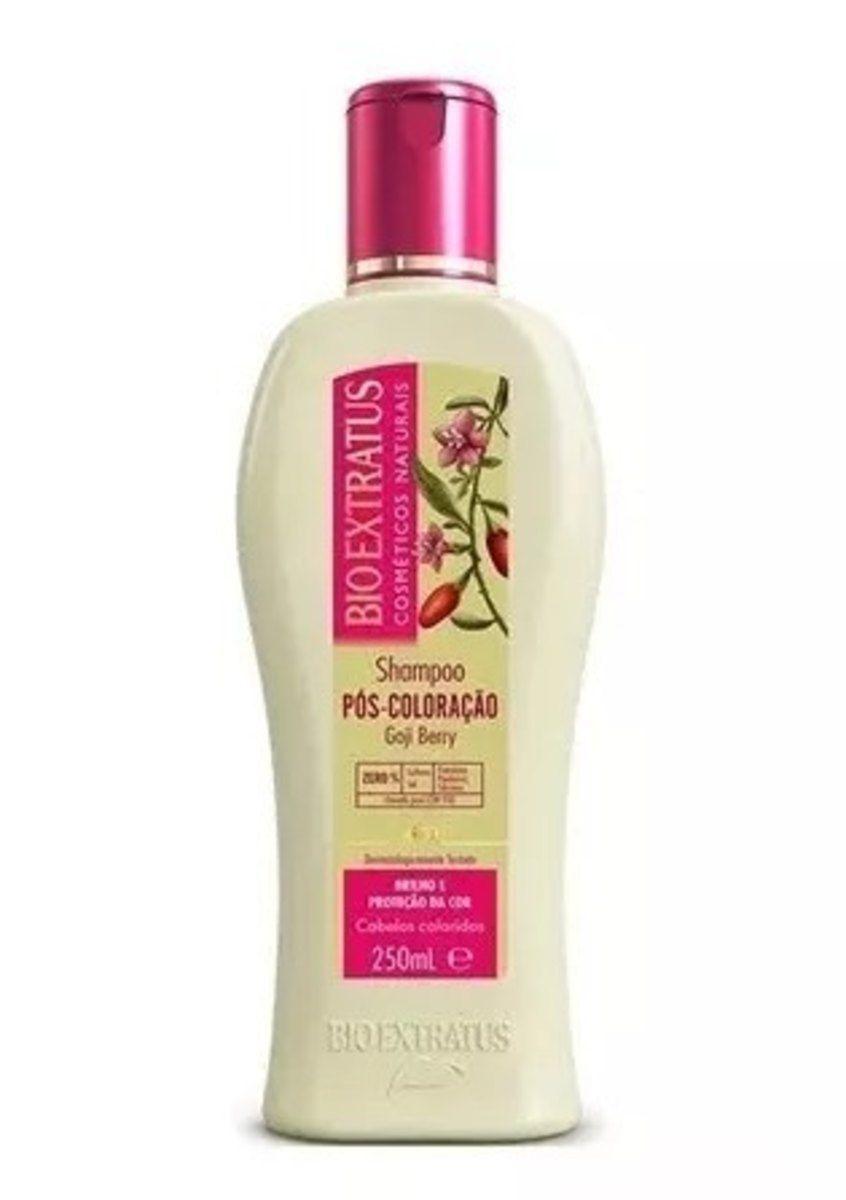 Shampoo Pós-Coloração Goji Berry 250ml - Bio Extratus
