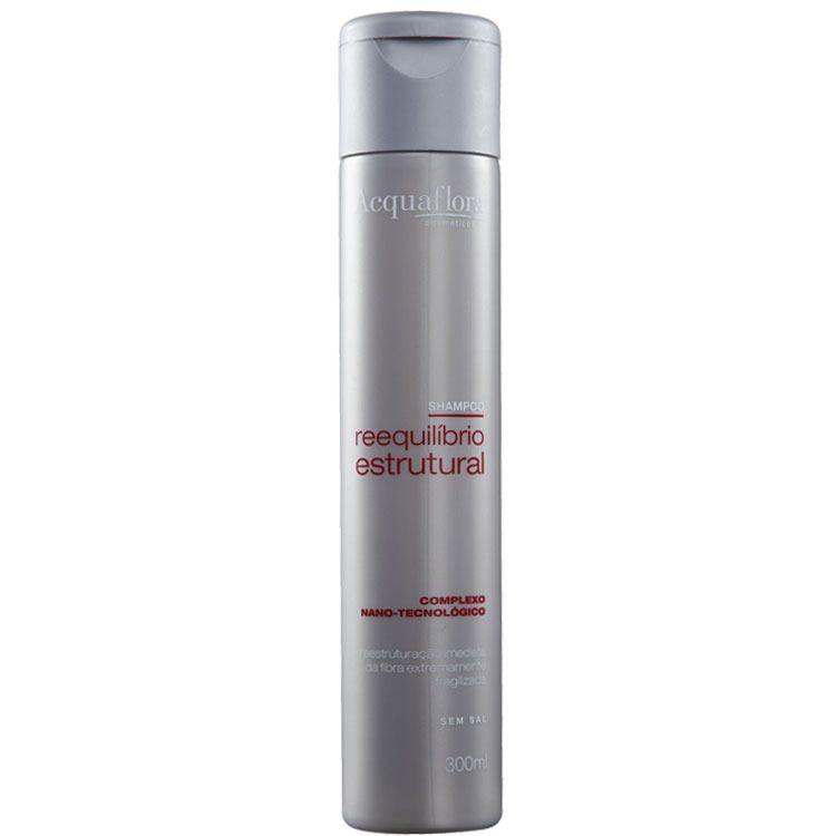 Shampoo  Reequilíbrio Estrutural  300ml- Acquaflora