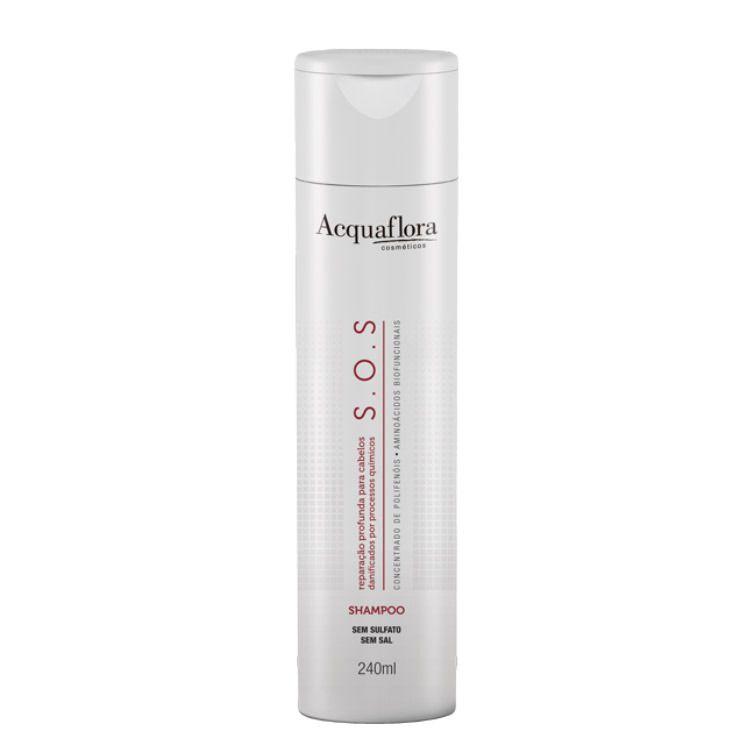 Shampoo S.O.S Reparação Profunda  240ml- Acquaflora