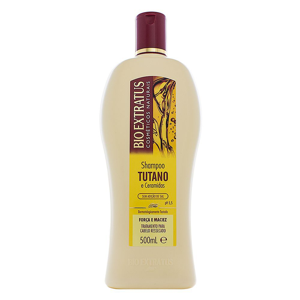 Shampoo Tutano Ceramidas 500ml-Bio Extratus