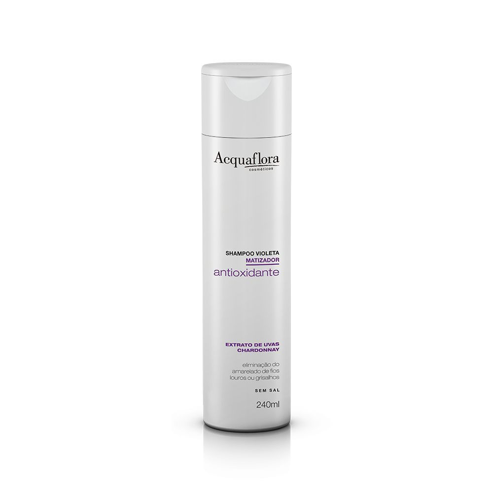 Shampoo Violeta Antioxidante Matizador 240ml- Acquaflora