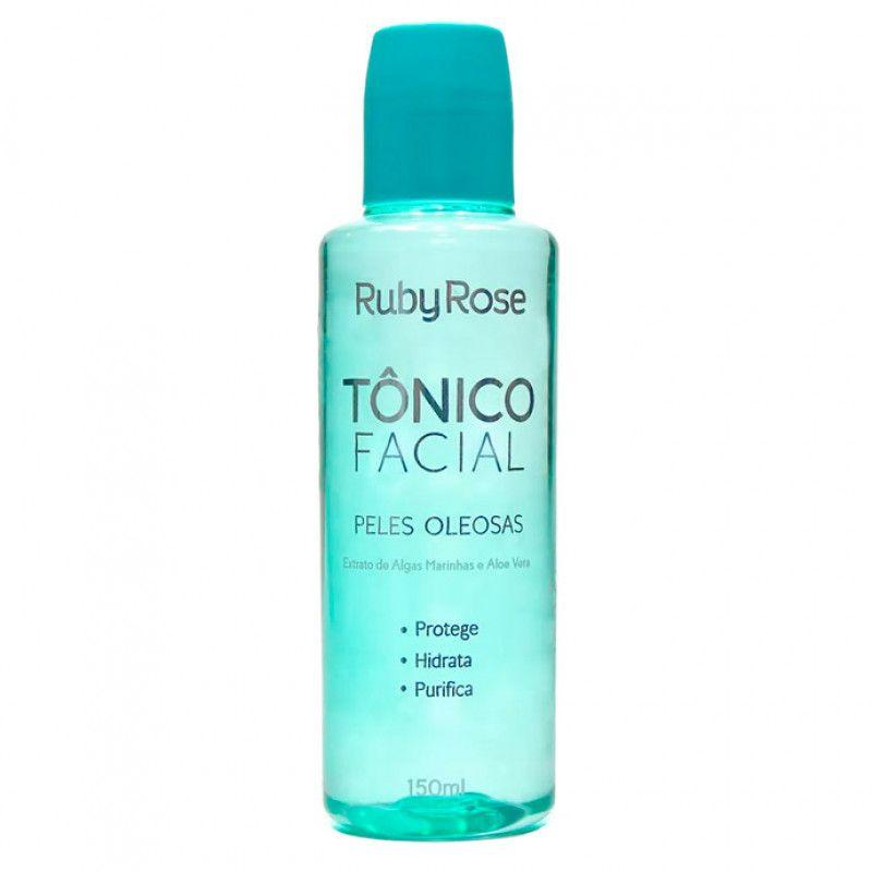 Tônico Facial Para Pele Oleosa 150ml - Ruby Rose