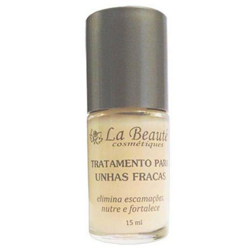 Tratamento para Unhas Fracas e Quebradiças - 15ml - La Beauté