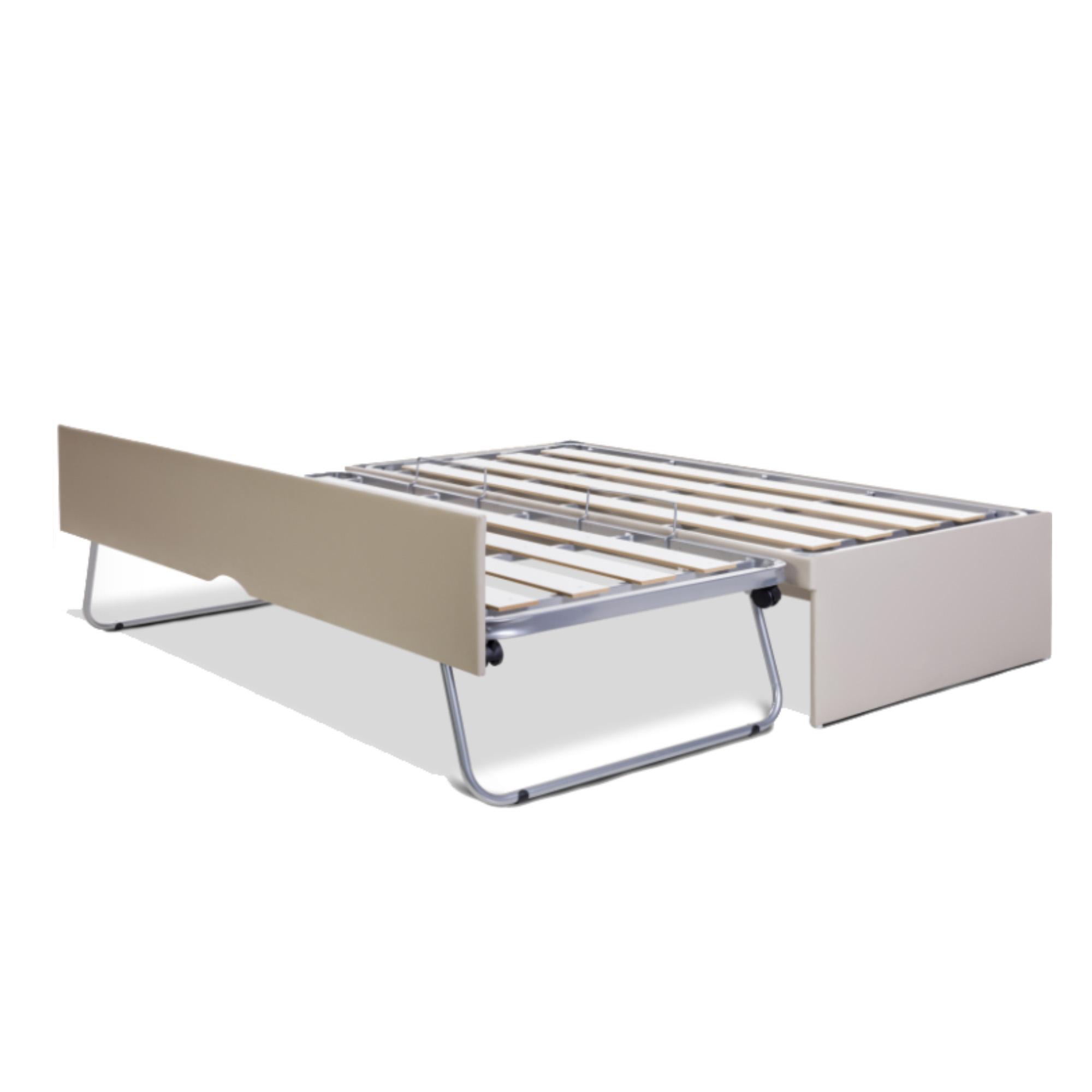 Box Bicama Prime Flat, Cinza Platinum, Pilati, Solteiro 088 x 188 cm
