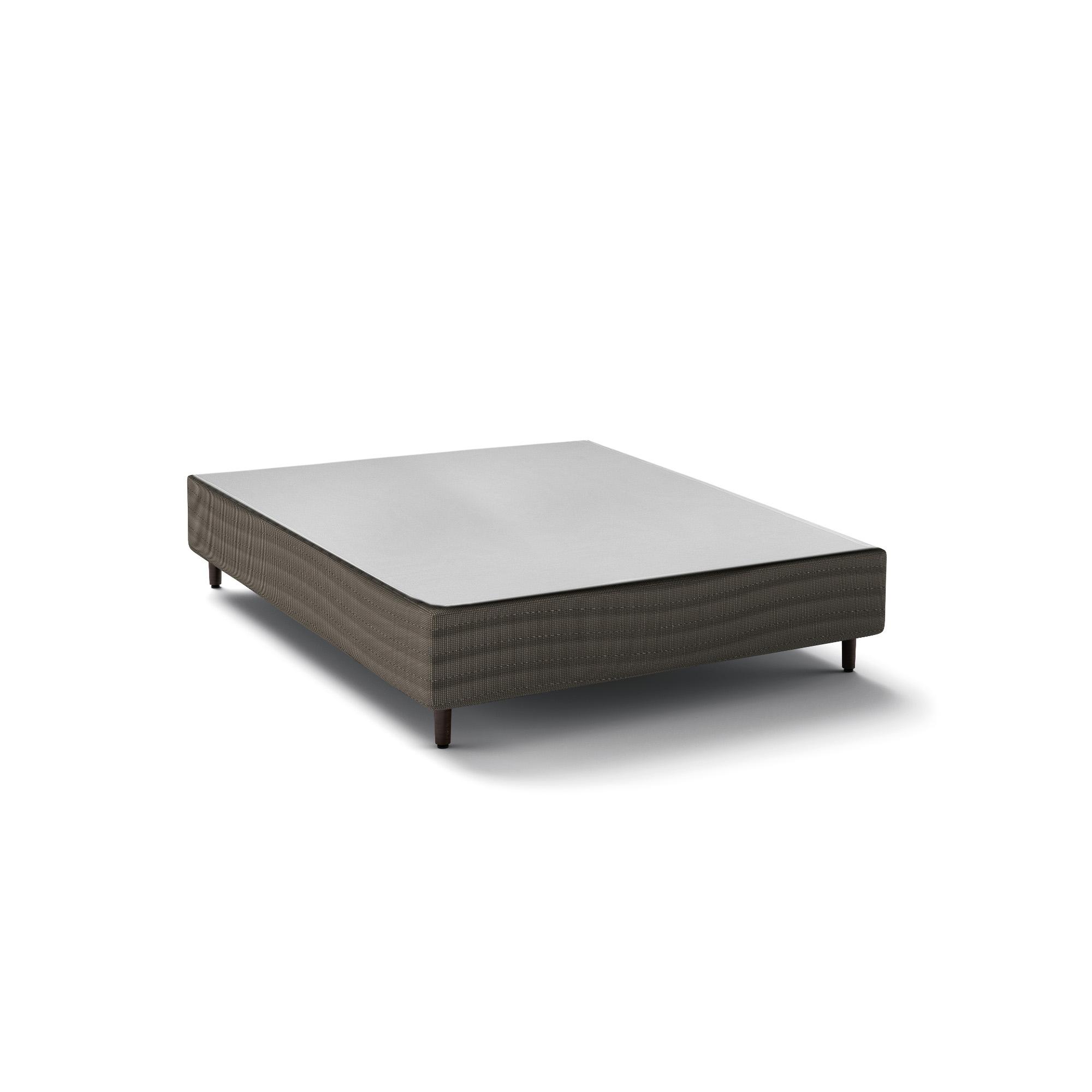Box Epeda Basic Cinza 30 cm [Casal 138 x 188 cm]