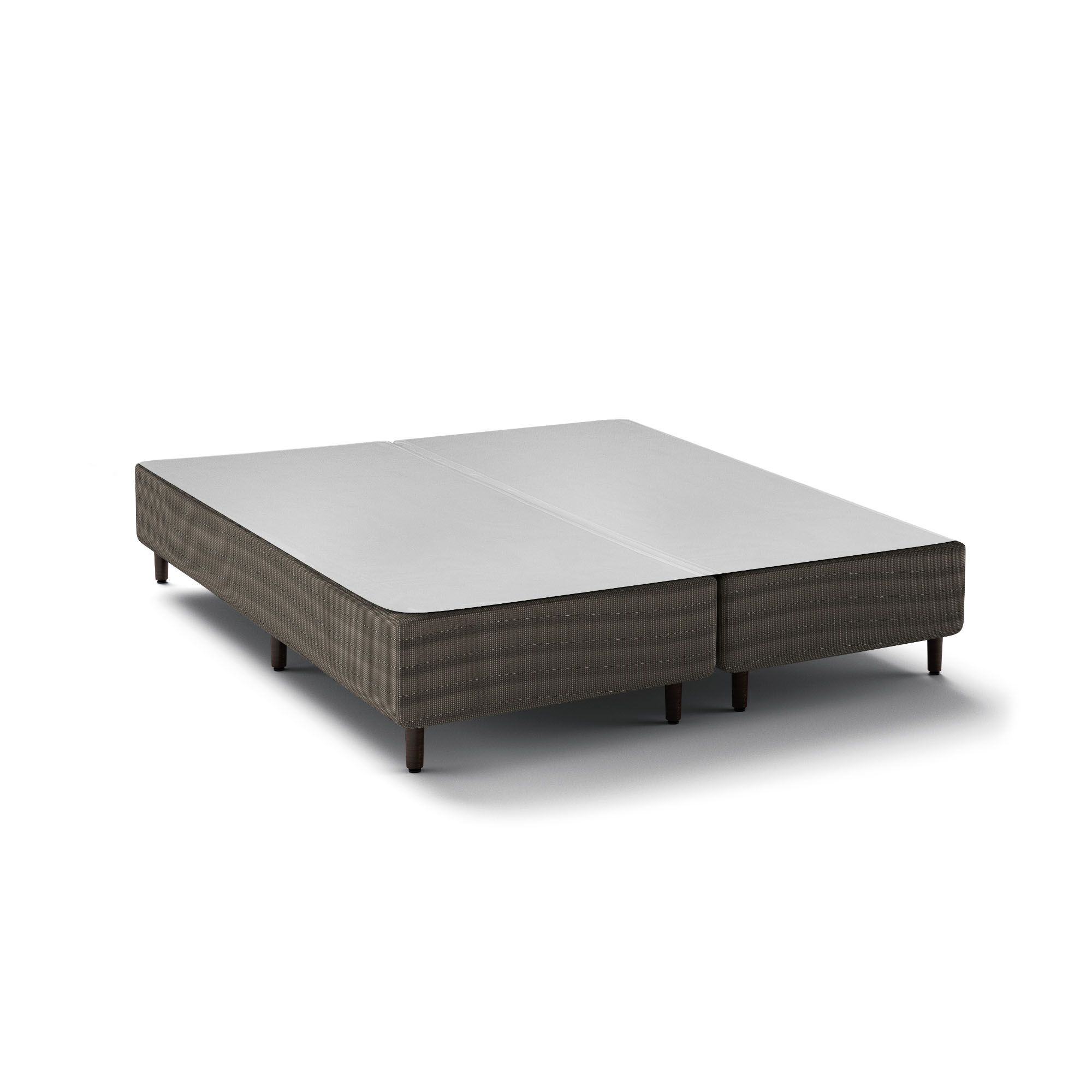 Box Epeda Basic Cinza 30 cm [Queen 158 x 198 cm]