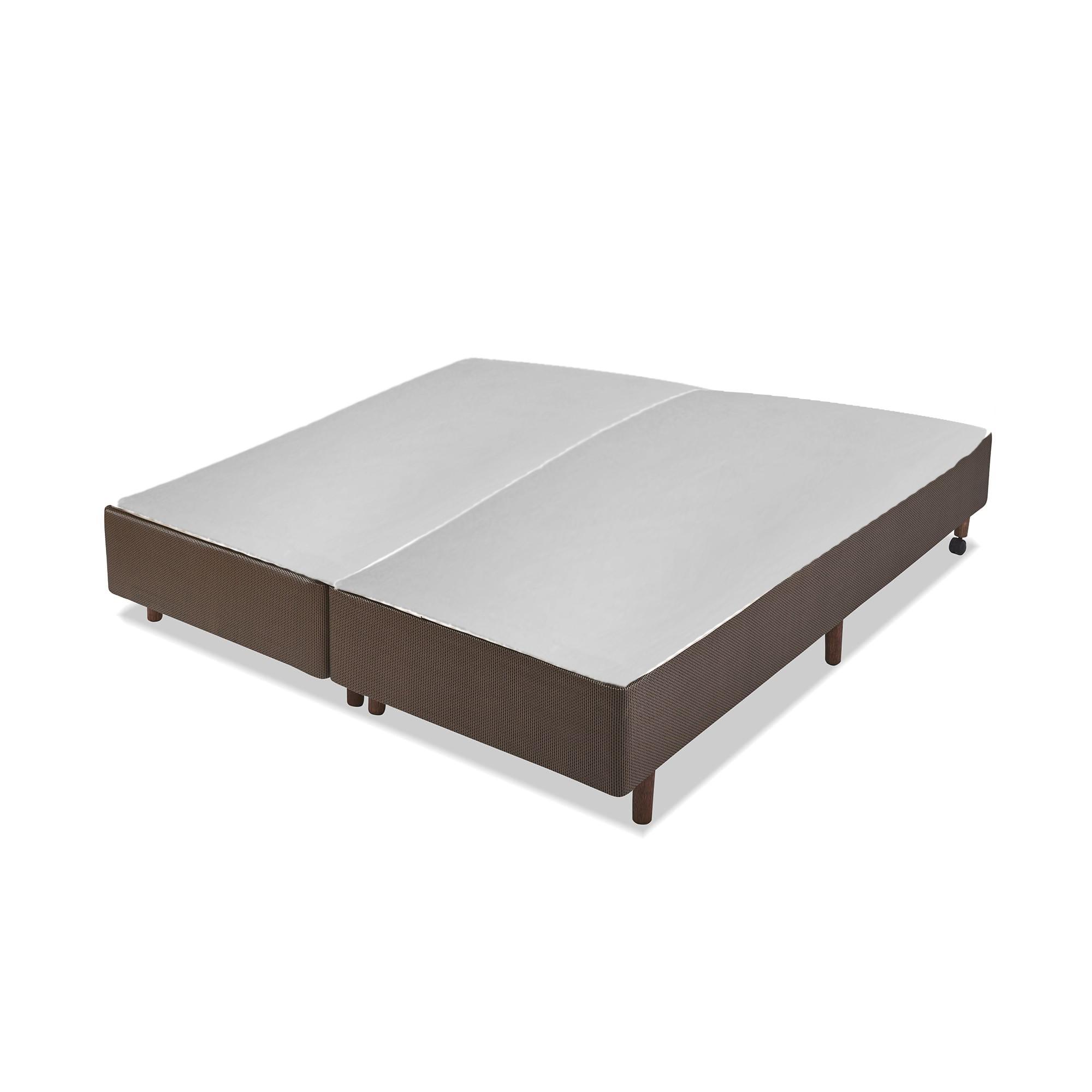 Box F.A. Colchões Prime Tech Marrom 25 cm [King 193 x 203 cm]