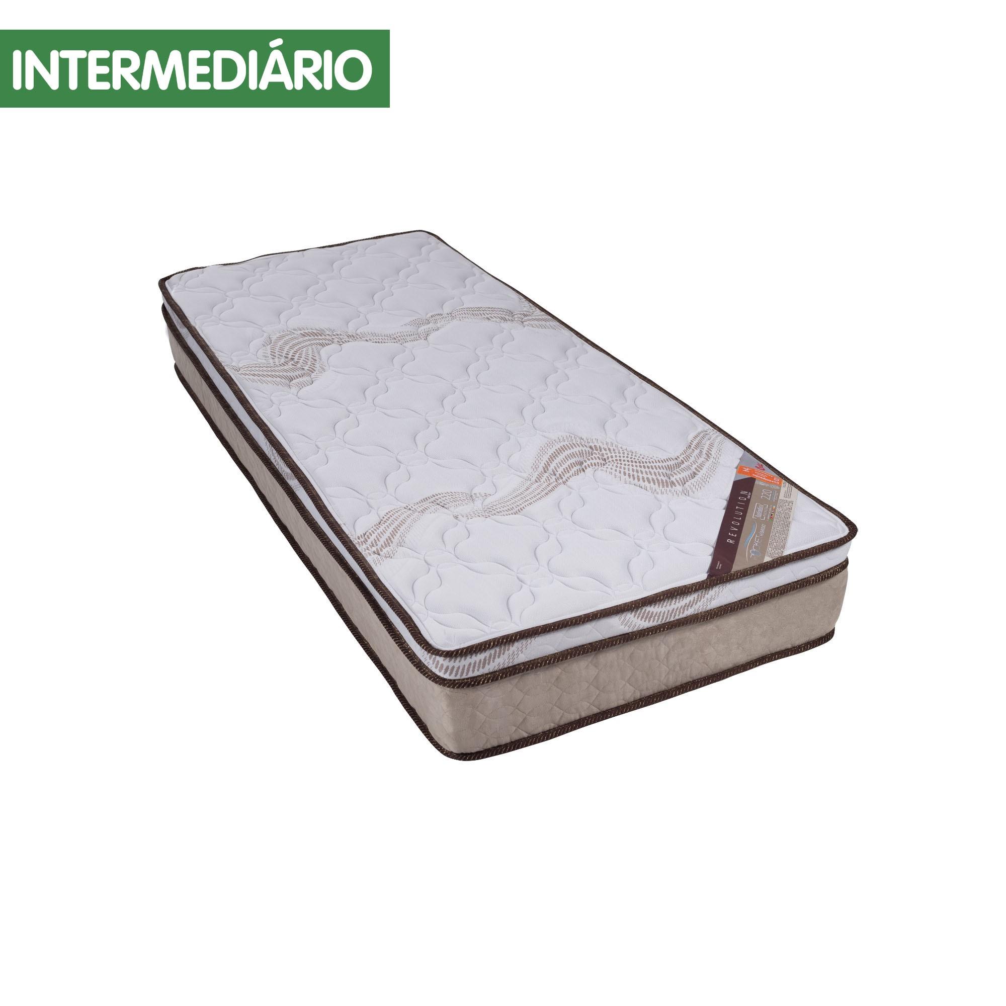 Colchão Castor Revolution Tecnopedic 30 cm [Solteiro 088 x 188 cm]