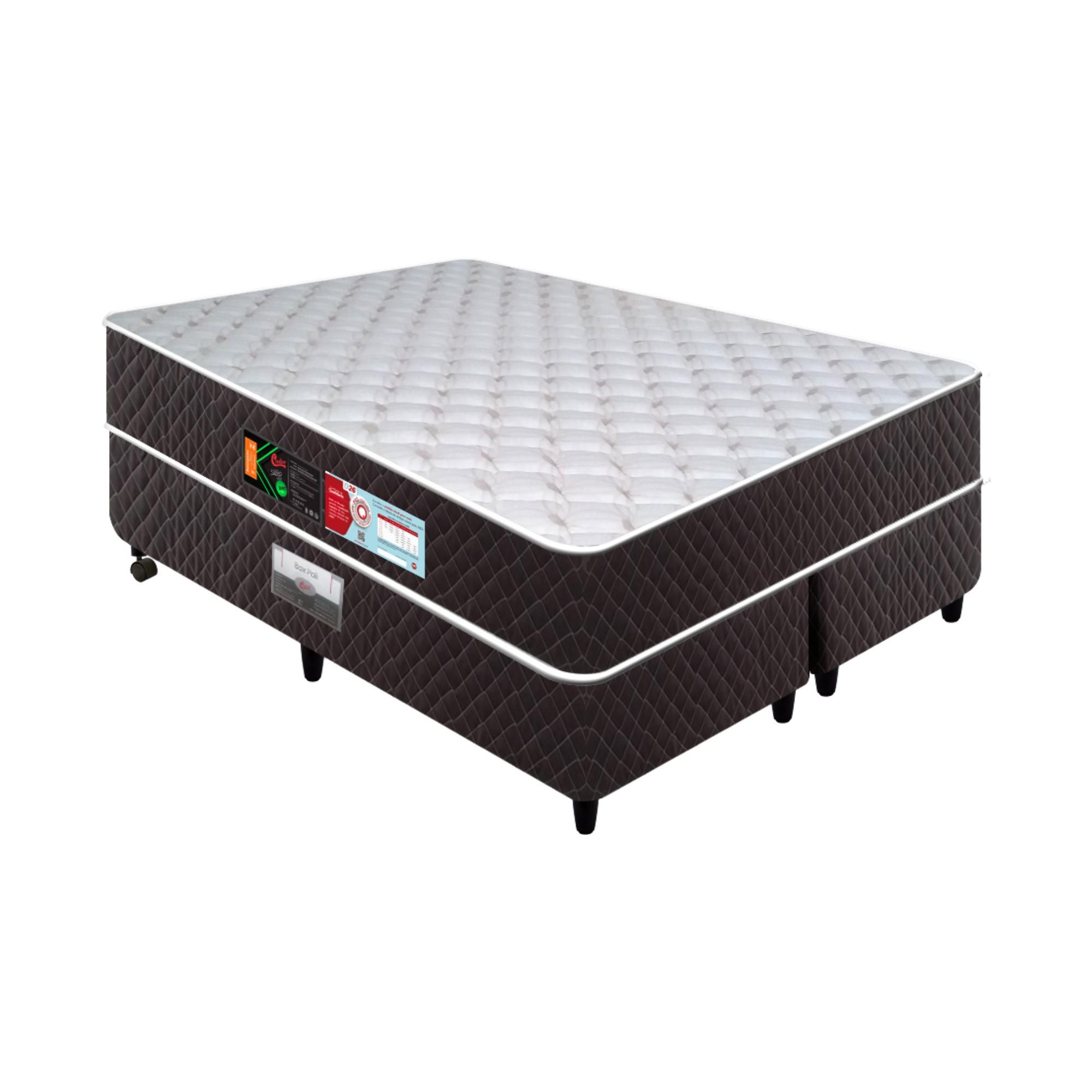Conjunto Box Castor Sleep Max D28 [Queen 158 x 198 cm]