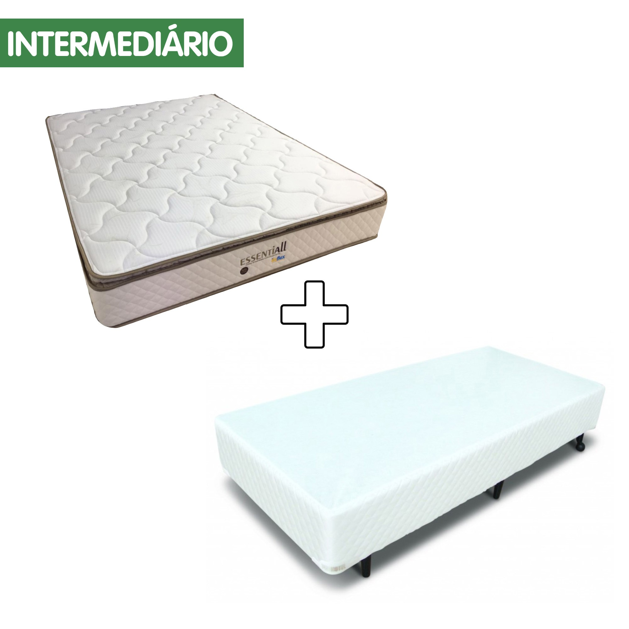 Conjunto Box MGA Itaflex Essentiall [Solteiro 088 x 188 cm]