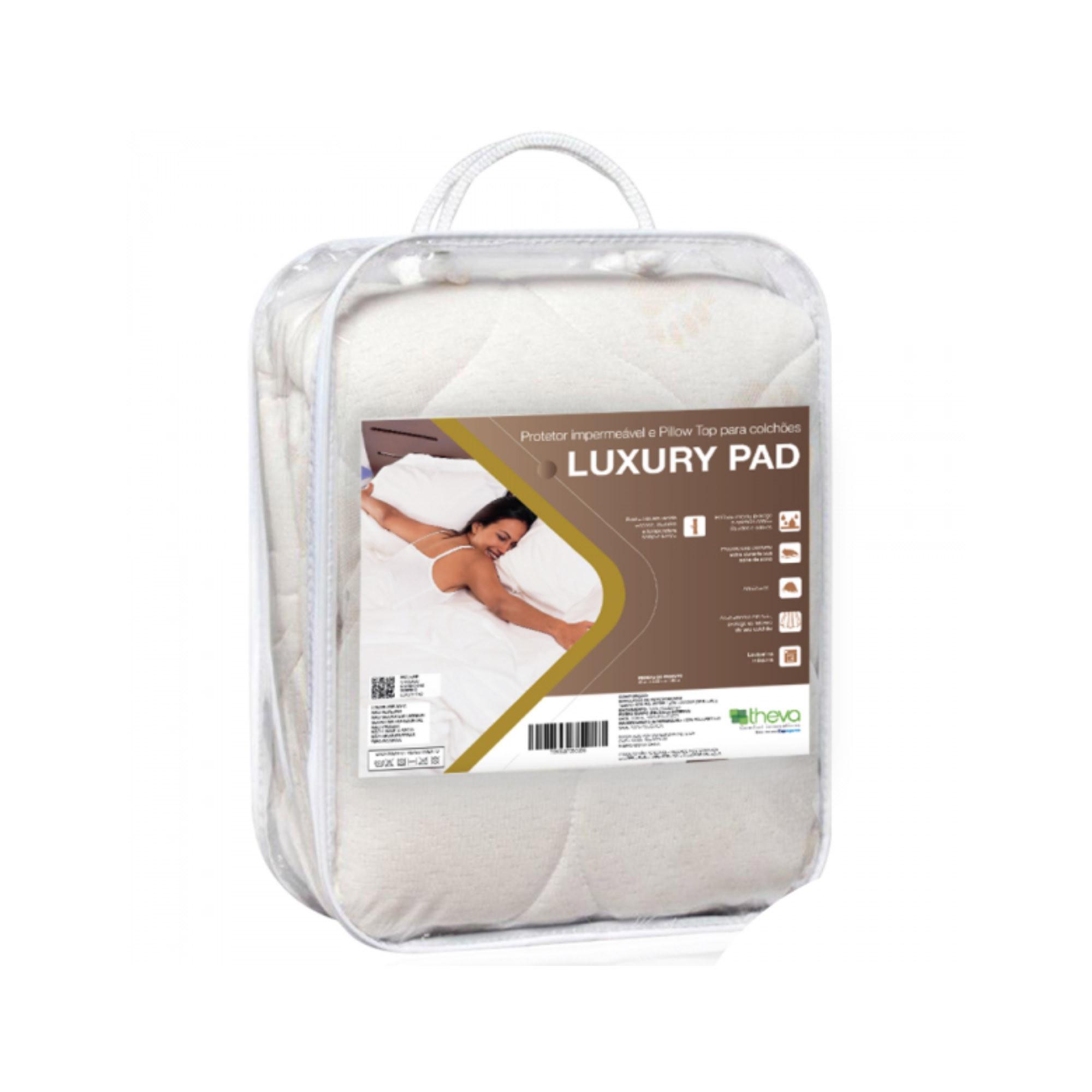 Protetor Impermeável para Colchão Luxury Pad [Solteiro 088 x 188 cm]
