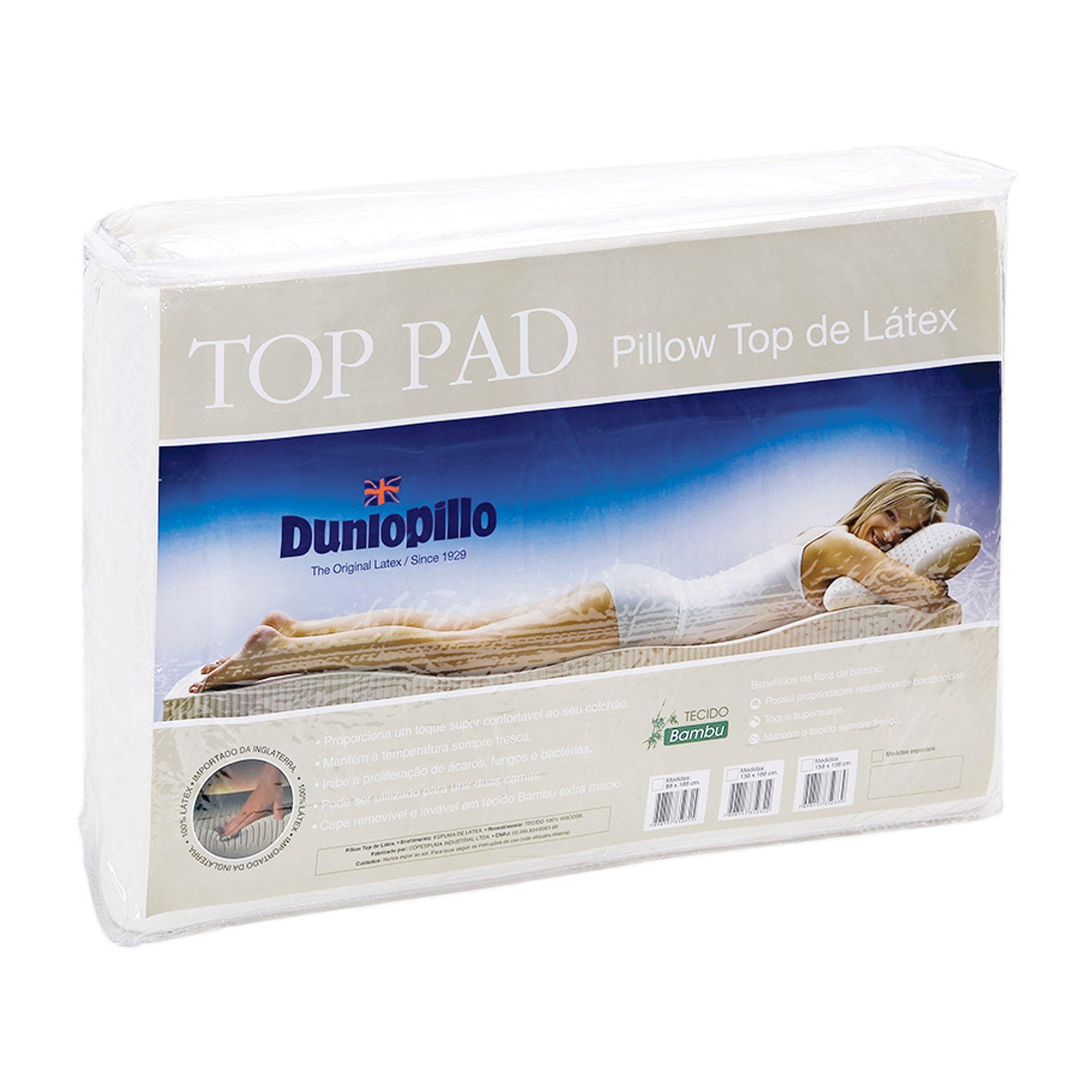 Top Pad - Pillow Top 100% Látex