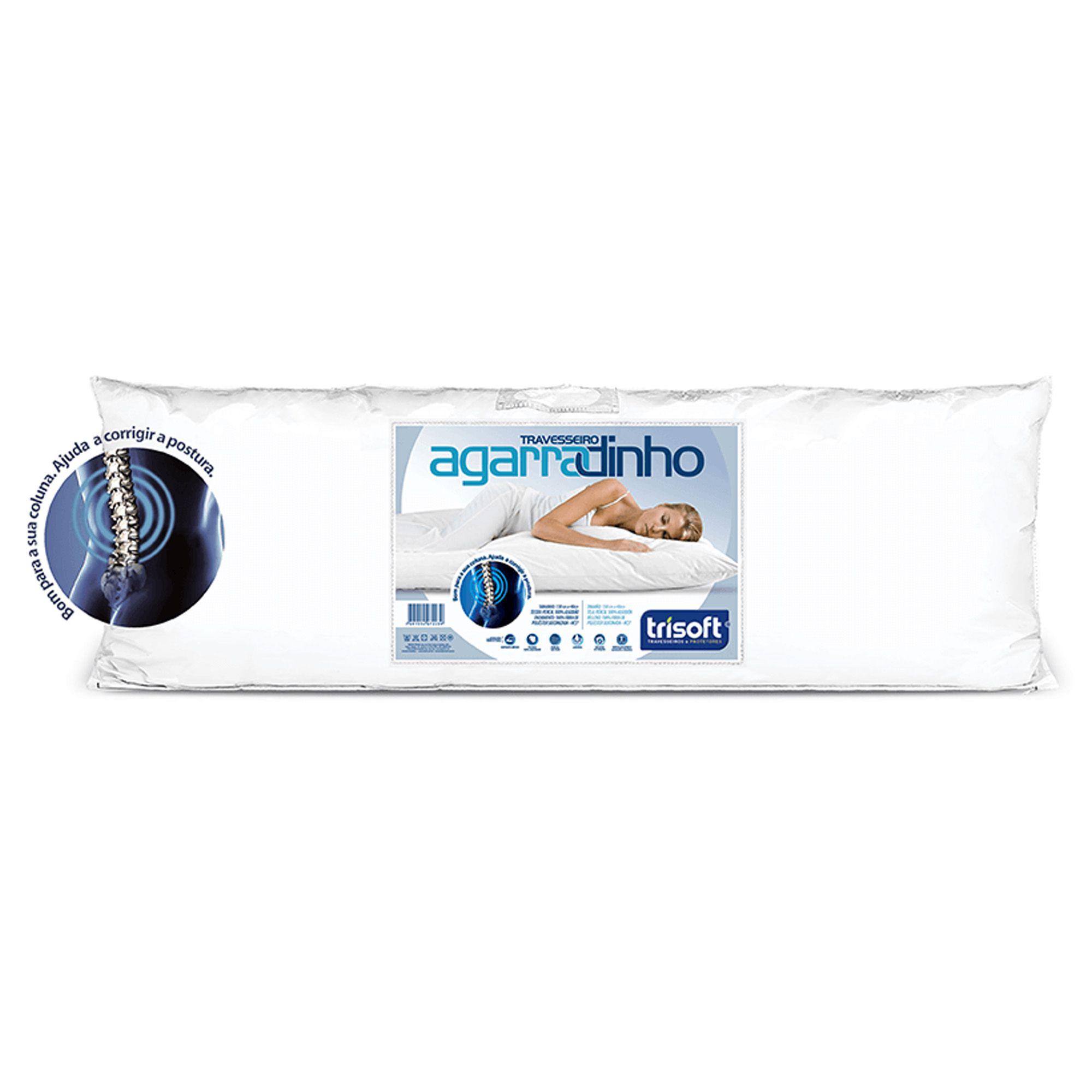 Travesseiro Trisoft Agarradinho, 040 x 130 cm
