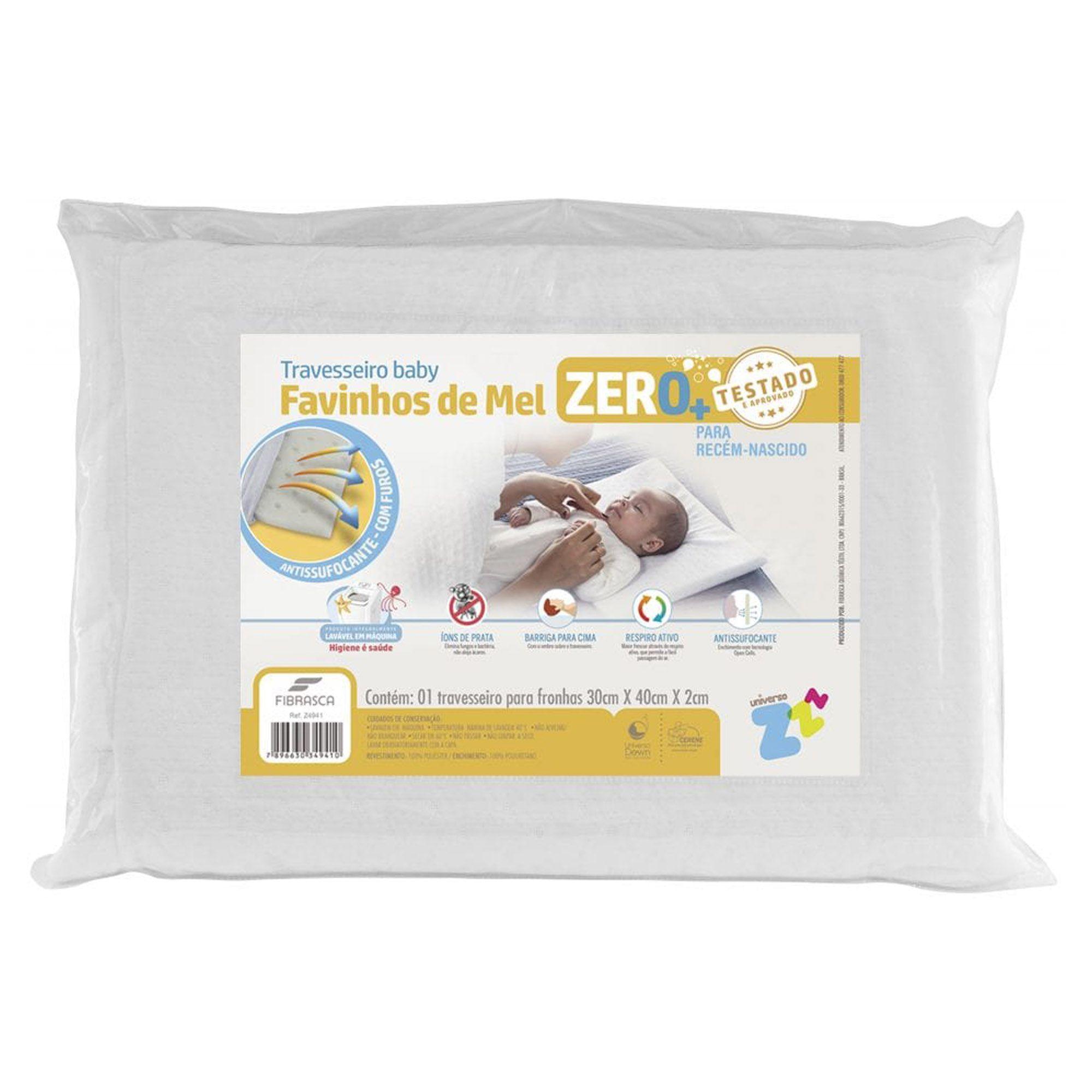 Travesseiro Favinhos de Mel 0+ 030 x 040 cm