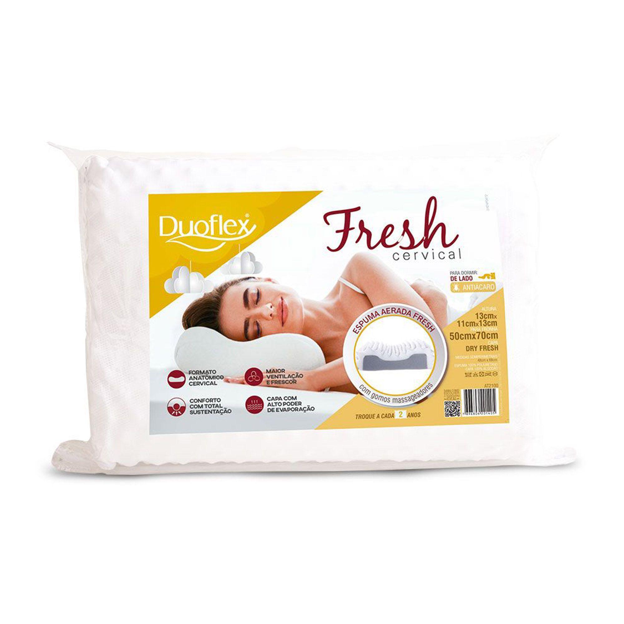 Travesseiro Cervical Fresh 050 x 070 cm