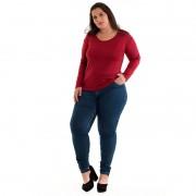 Blusa Básica Plus Size 11702