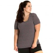 Blusa Viscolycra Plus Size 16603