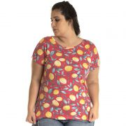 Blusa Viscose Plus Size 12808