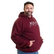 Blusão Moletom Bolso Canguru Plus Size 145121