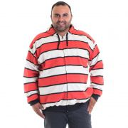 Jaqueta Moletom Bolso Lateral Plus Size Estampado  7692