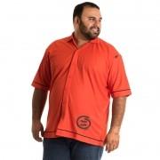 Camisa Manga Curta Plus Size 9603