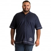 Camisa Manga Curta Plus Size 9604