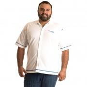 Camisa Manga Curta Plus Size 9605