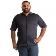 Camisa Manga Curta Plus Size 9606