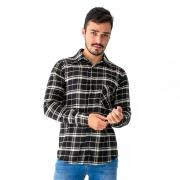 Camisa Masculina Flanela Manga Longa 33515