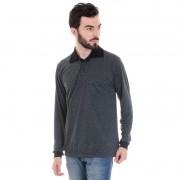 Camisa Polo Masculina com Bolso 3541