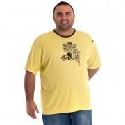 Camiseta Manga Curta Plus Size 98810
