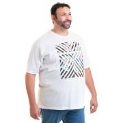 Camiseta Masculina Manga Curta Plus Size 10632