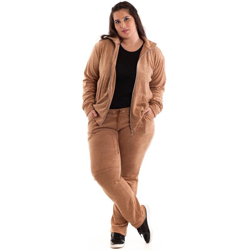Agasalho Plush Plus Size 14542
