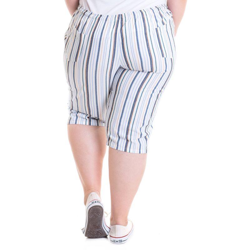 Bermuda Feminina Plus Size Maria João 93310