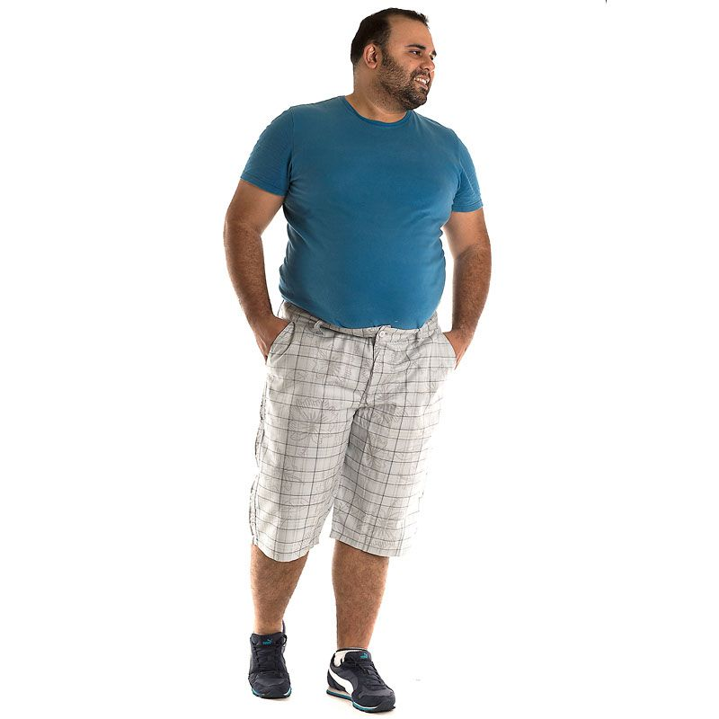 Bermuda Sarja Plus Size 10704
