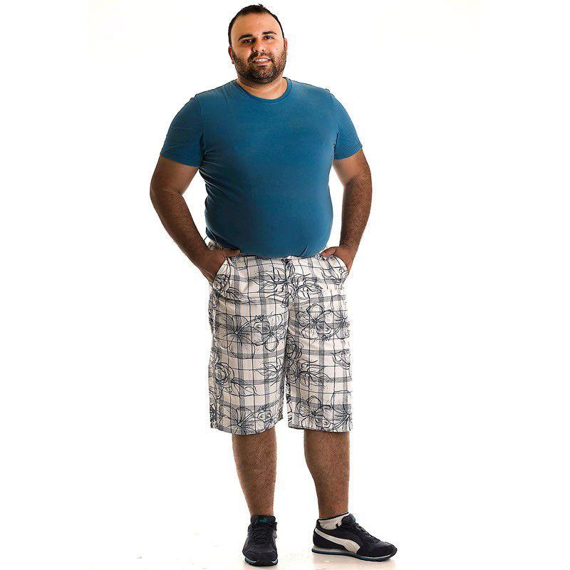 Bermuda Sarja Plus Size 10705