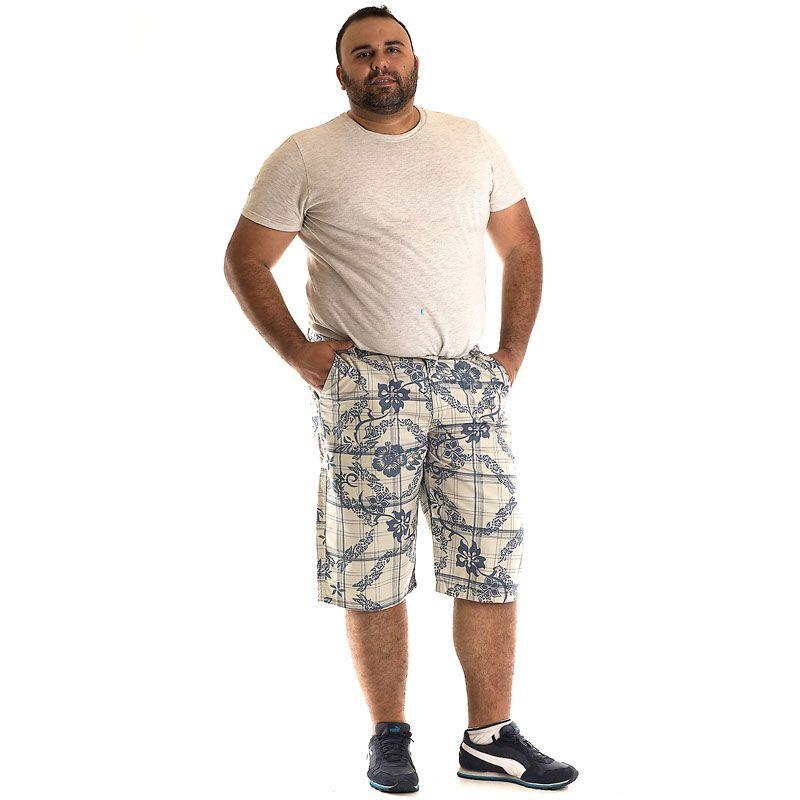Bermuda Sarja Plus Size 10706